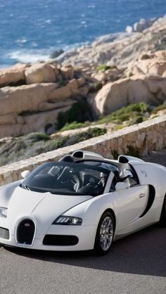bugatti veyrons, supercar, white, Cars