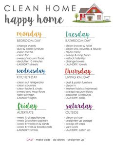 Clean House Schedule, House Cleaning Checklist, Household Cleaning Tips, Diy Cleaning Products, Cleaning Solutions, New House Checklist, Spring Cleaning Tips, Deep Cleaning Lists, Cleaning Diy