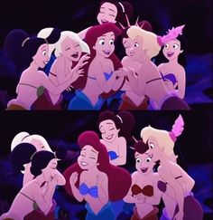 She's always down to gossip when you have a juicy story to tell. | 21 Things Disney Taught You About Having A Sister