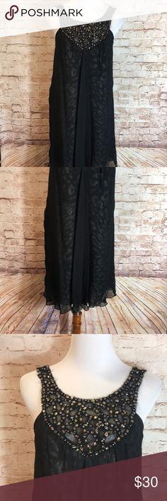 "✨BCBG MAXAZRIA SILK DRESS✨ BCBG MAXAZRIA BLACK SILK DRESS SIZE 02   Laying Flat  ▪️Pit to Pit: 14.5"" ▪️Length:  35"" ▪️Condition : Preowned no rips, tears, marks or stains . Pet free , smoke free . BCBGMaxAzria Dresses"