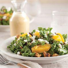 Kale Salad with Orange Vinaigrette
