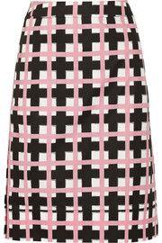 Marni Printed woven skirt