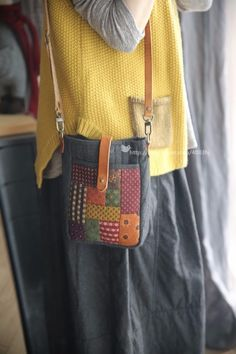 Patchwork Bags, Quilted Bag, Boro Stitching, Sewing Magazines, Potli Bags, Handmade Purses, Fabric Bags, Purses And Bags, Embroidery Designs