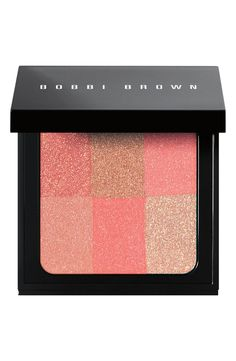 Bobbi Brown's 'Brightening Brick Compact' creates a lit-from-within glow and adds a hint of color.