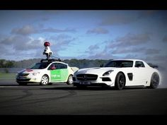 Top Gear's Test Track Now On Street View As The Stig Does Donuts Around A Google Camera Car - http://techcrunch.com/2014/01/23/top-gears-test-track-now-on-street-view-as-the-stig-does-donuts-around-a-google-camera-car/