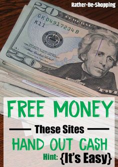Who doesn't love free money? I discovered 14 sites that will happily give you cold, hard cash. Find a couple that work for you and start collecting your share. Earn Free Money, Ways To Earn Money, Earn Money From Home, Money Saving Tips, Way To Make Money, Money Tips, Money Hacks, Cash Money, Money Fast