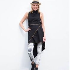www.madamekukla.com #variable #asymmetric #wrapdress #sleeveless #makeityours #madamekukla Wrap Dress, Dresses For Work, How To Wear, Inspiration, Style, Fashion, Fashion Styles, New Looks, Dress Work