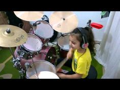 """System Of A Down - Toxicity ( Drum cover ) Eduarda Henklein (5 Years-old)...""""This 5-year-old girl is a better drummer than you'll ever be."""""""