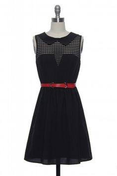 The Carey Dress in Black | Vintage, Retro, Indie Style Dresses