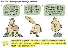 Bibofle: Les différents Registres de langue | Apprentissage du Français FLE, FOS | Scoop.it