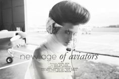 """Michael Grzyb: """"New Age of Aviators"""" http://www.confashionmag.pl/webitorial/new-age-of-aviators.html"""