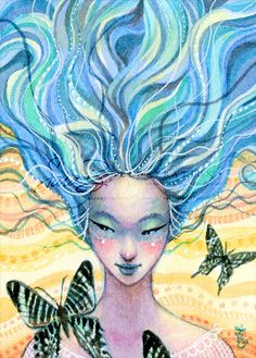 Hey, I found this really awesome Etsy listing at https://www.etsy.com/listing/99333359/butterfly-fairy-print-water-elemental