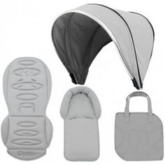 Build your own Oyster Max - Babystyle Silver Mist, Build Your Own, Oysters, Colour, Building, Bags, Accessories, Beautiful, Diy