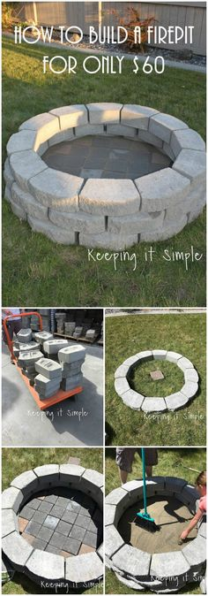 The range of the #diyfirepit ideas is very wide which are easy to build and accentuated with different sources and materials. So I have made a list of easy DIY fire pit ideas that will really inspire you to make a fire pit with your own hands.