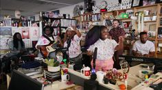 Interview: NPR's Tiny Desk Concert Winner, Tank and The Bangas