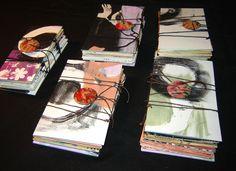 Accordion artist books  Marie-Christine Nadeau