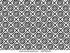 stock-vector-asian-pattern-with-symbols-of-black-and-white-color-202732420.jpg 450×341 pixels