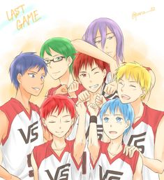 Vorpal Swords, Generation Of Miracles, Bodo, Host Club, Kuroko's Basketball, Kuroko No Basket, Anime Guys, Hot Guys, High School