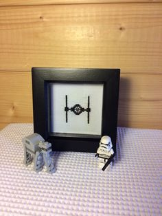 Check out this item in my Etsy shop https://www.etsy.com/uk/listing/489067145/star-wars-starship-framed-completed