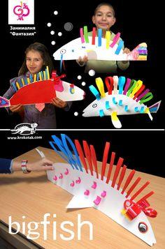 Big Fish kids crafts