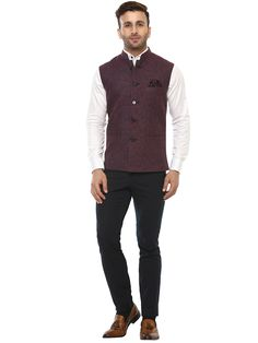 Buy Lee Marc Dark Purple Linen Cross Nehru Jacket Online at Low prices in India on Winsant, India fastest online shopping website. Shop Online for Lee Marc Dark Purple Linen Cross Nehru Jacket only at Winsant.com. COD facility available. #jacket #indianwear #indianwear #leatherjacket #coat #suit #ethnic #ethnicwear