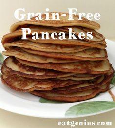 Grain-Free Pancakes #eatgenius