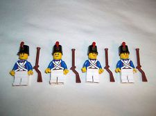LEGO IMPERIAL FRENCH SOLDIER CUSTOM ARMY BUILDER 4 Figs
