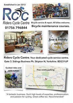 RidersCycleCentre leaflet