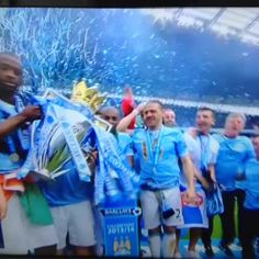 So Man City didn't choke at the last minute. Well, Yaya did... watch out for that pesky scarf!