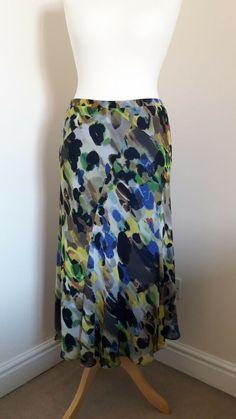 M&S Per Una Women's Long Maxi Summer Skirt Size.14 Summer Maxi, Summer Skirts, Maxi Skirt Boho, Duffle Coat, Sale Uk, Swirl Pattern, Boho Festival, Fit And Flare, Size 14