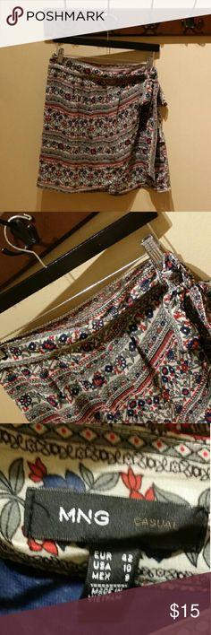 Selling this MNG Casual Wrap Skirt on Poshmark! My username is: usxgichxn. #shopmycloset #poshmark #fashion #shopping #style #forsale #MNG #Dresses & Skirts