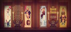 Disney's Haunted Mansion on Behance