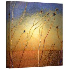 Dean Uhlinger 'Texas Sand Storm' Gallery-wrapped Canvas - Free Shipping Today - Overstock.com - 16294236 - Mobile