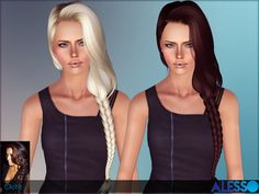 Cliche hair for females by Alesso - Sims 3 Downloads CC Caboodle