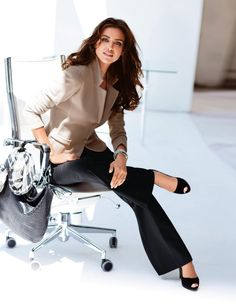 For those casual days. However, please ladies, loose the peeptoes, other people couldn't be bothered with your toes at work!! - Claaseconsultancy