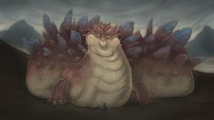 Glaurung, the Great Worm by Cabanyat