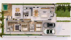 Minimal House Design, Zen Design, Minimal Home, Pavilion Architecture, Architecture Design, Architect Design House, Narrow Lot House Plans, House Construction Plan, Model House Plan