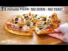 Τραγανή ζύμη πίτσας χωρίς μαγιά( vid) Pizza Recipes, Sauce Recipes, Casserole Recipes, Real Food Recipes, Great Recipes, Cooking Recipes, Yummy Food, Healthy Food, Vídeos Youtube