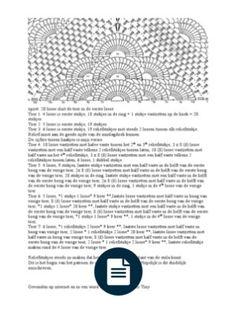 Uitgeschreven Tekst Bij De Russische Stola Aangepaste Versie Haken