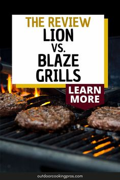 Learn more about Outdoor Cooking Pros' Lion vs. Blaze Grills review. Create your dream outdoor kitchen with the perfect grill brand that resembles your lifestyle. Learn more about the unique features of these outdoor grill brands that would surely improve your outdoor cooking experience. Show off your best grill recipes with the outdoor grill brand of your choice. Make your outdoor cooking experience more exciting with Outdoor Cooking Pros. Visit us at outdoorcookingpros.com. Modern Outdoor Grills, Modern Outdoor Kitchen, Outdoor Kitchens, Outdoor Cooking, Outdoor Grill Area, Outdoor Grill Station, Best Grill Recipes, Grilling Recipes, Grill Brands