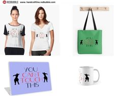 Cant Touch This, Reusable Tote Bags, Design Inspiration, Inspired, Instagram Posts, Shopping, Fashion, Moda, Fashion Styles