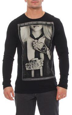 Religion Herren T-Shirt Shirt Langarmshirt Longsleeve SUIT - B2415STF02 in Vêtements, accessoires, Hommes: vêtements, T-shirts   eBay