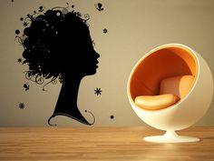 Wall Room Decor Art Vinyl Sticker Mural Decal Hair Beauty Salon Big Large AS1195 #3M