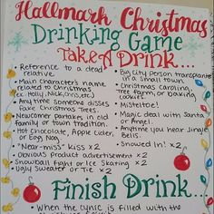This Hallmark Christmas Movie Drinking Game Guarantees You'll Get More Than Tipsy