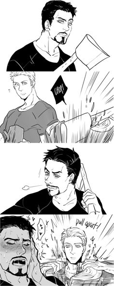 Stony | I don't ship it but this is hilarious! | Avengers: Age of Ultron