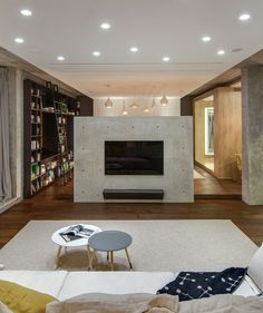 2B.group designed this apartment in Odessa, Ukraine, to be a cozy, yet open space for their client