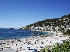 The White Squeaky Beaches of Clifton, Cape Town, South Africa Best Places To Vacation, Great Vacations, Places To Travel, Places To See, African Vacation, Clifton Beach, Cape Town South Africa, Most Beautiful Beaches, Beautiful Places