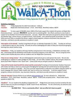 walk a thon themes