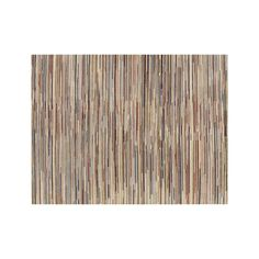Savoy Cream Striped Hand Knotted Wool 10'x14' Rug