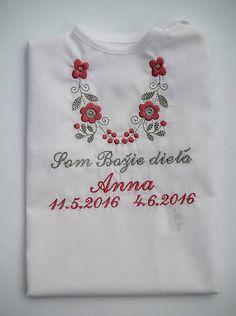 09867362300b Košieľka na krst K14 ružovo-šedá (Odoslanie do 21 dní)   Krstiny